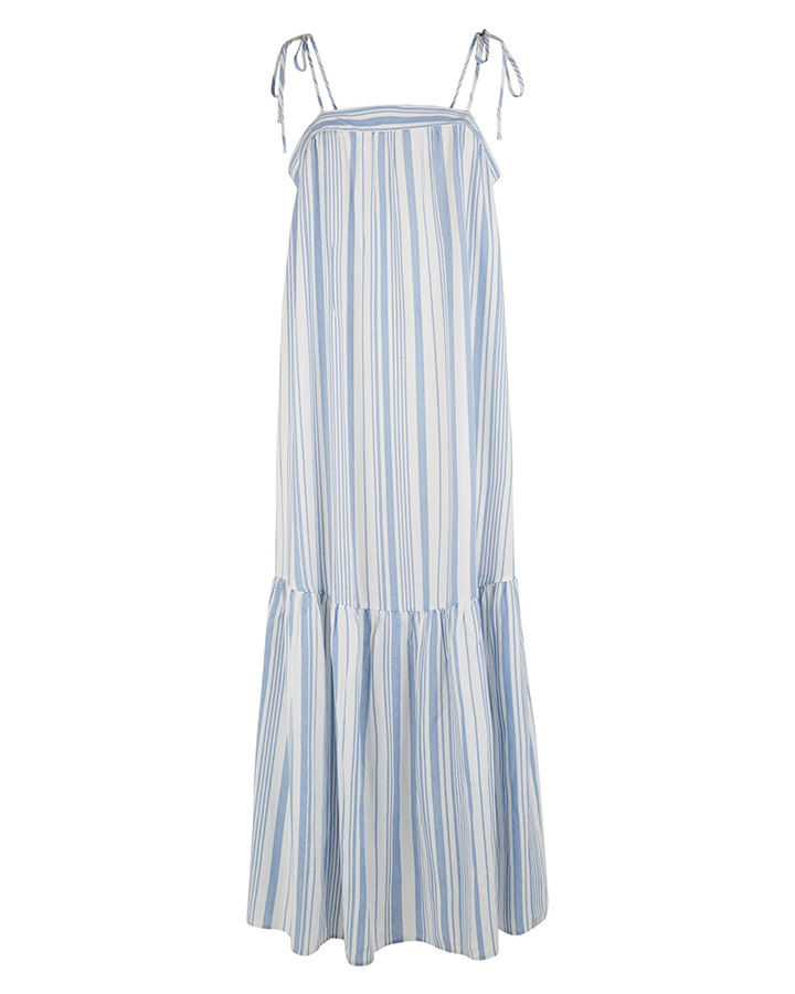 airport style new look stripe dress