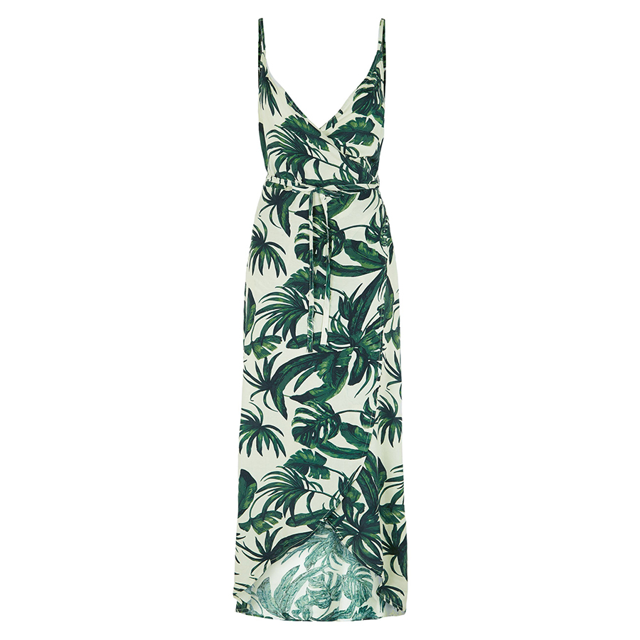 New look leaf print dress