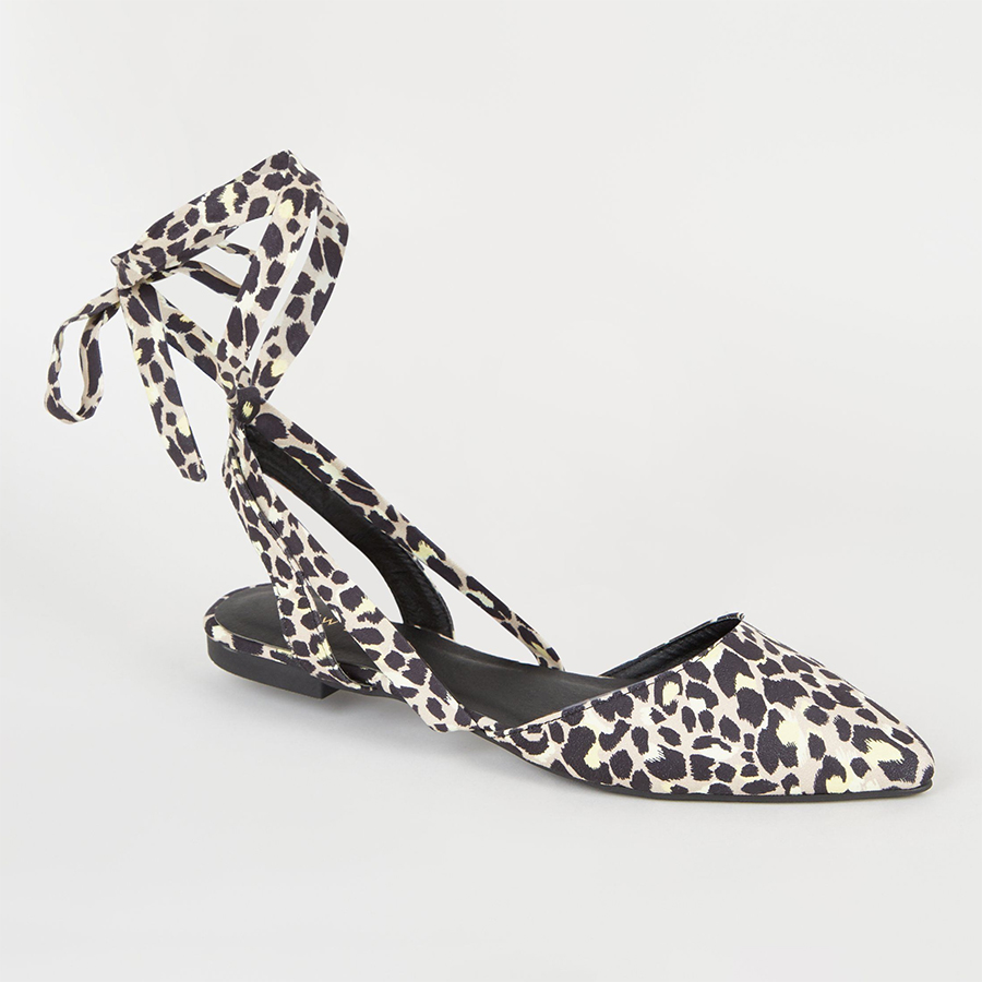 New Look leopard shoes