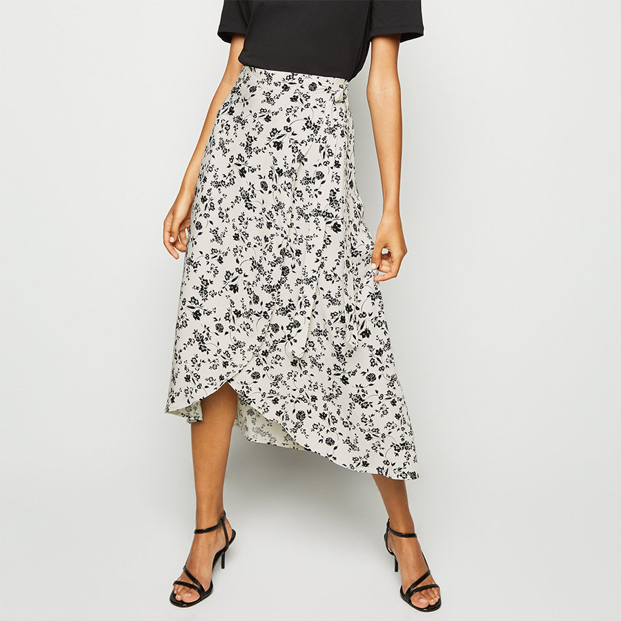 New Look wrap skirt