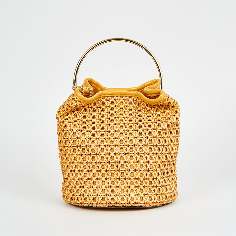 New Look woven bag