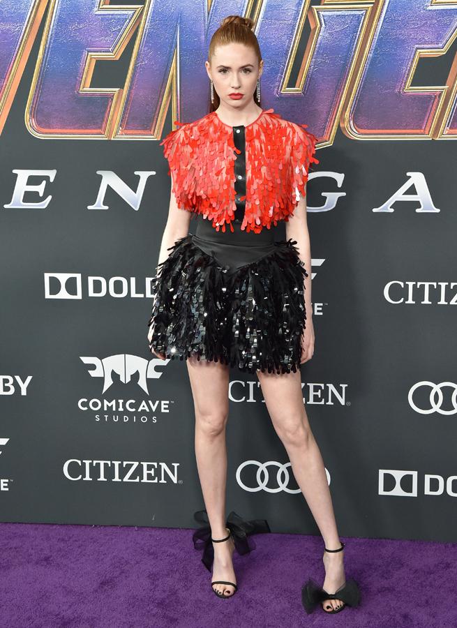 Karen Gillan's Style Avengers End Game