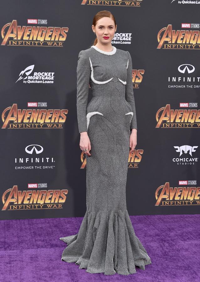 Karen Gillan's Style Avengers Infinity War