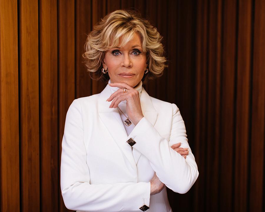 Jane Fonda fringe