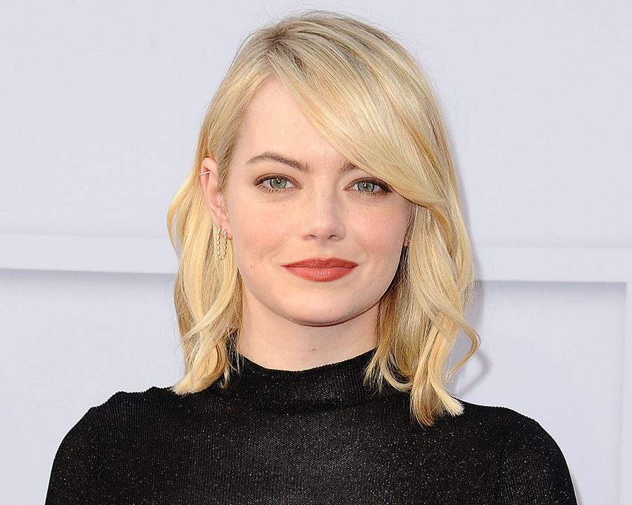 Emma Stone fringe