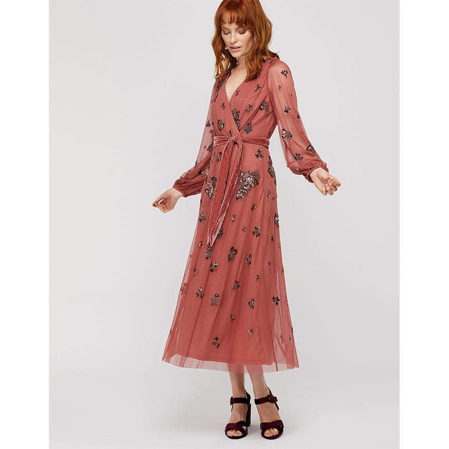 Monsoon wrap dress