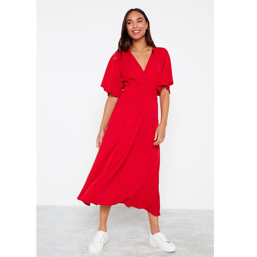 F&F red dress