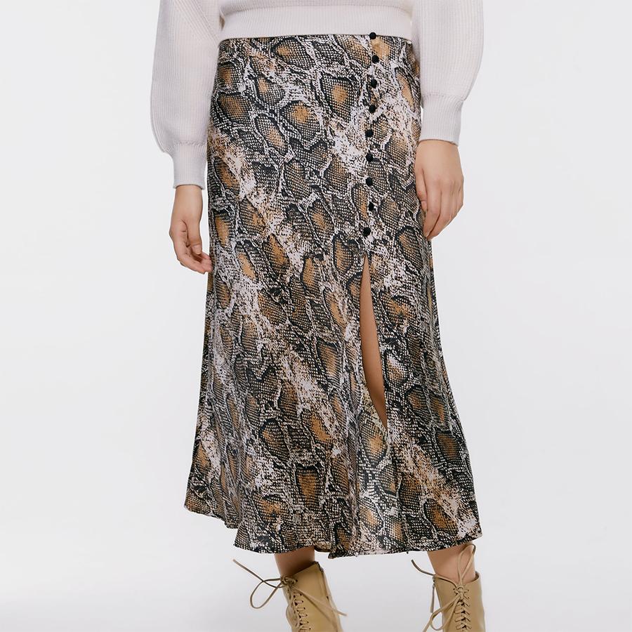 Zara Skirt snakeskin