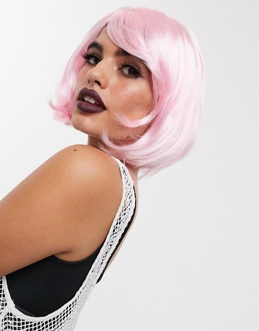 ASOS pink wig