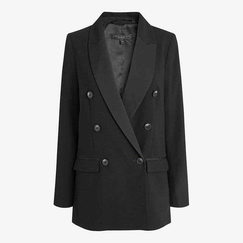 Emma Willis Next black tux jacket
