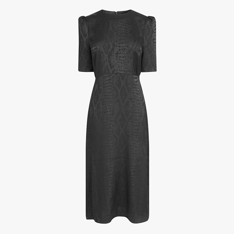 Emma Willis Next black jacquard dress
