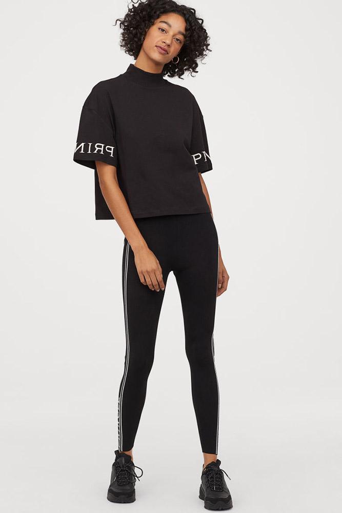 Pringle of Scotland H&M collaboration leggings