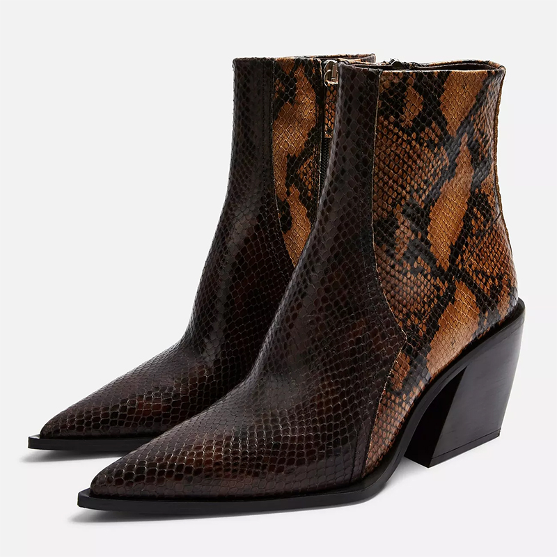 topshop western boots