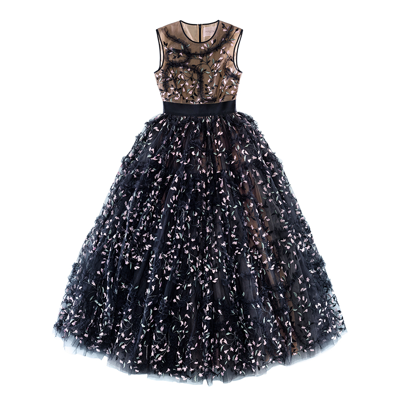 Giambattista Valli X H&M black ball gown