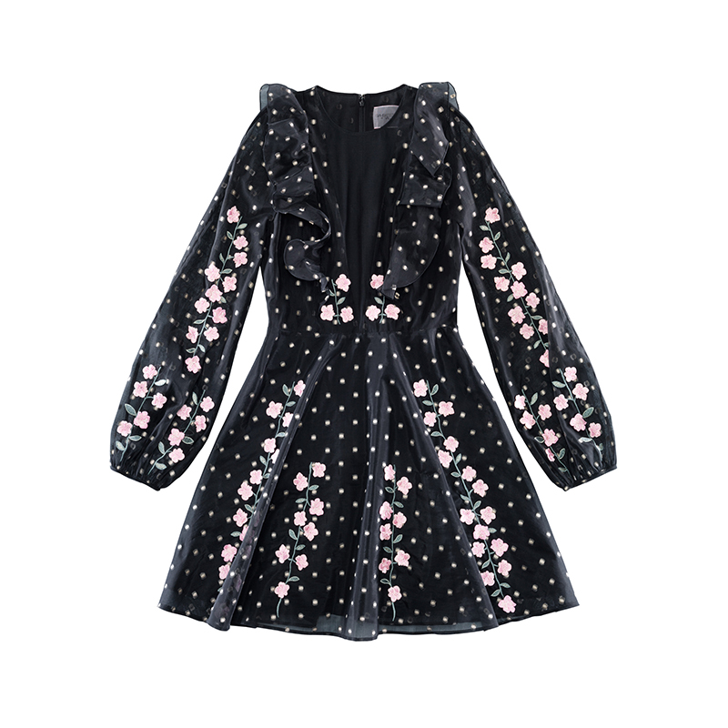 Giambattista Valli X H&M black mini dress