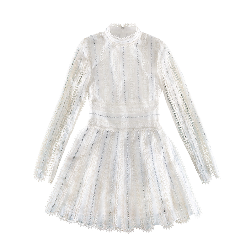Giambattista Valli X H&M white mini dress