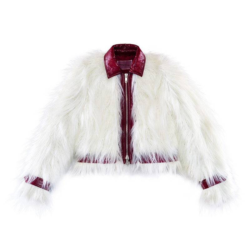Giambattista Valli X H&M faux fur jacket