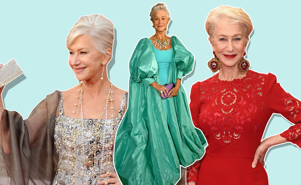 Helen Mirren Red Carpet Style