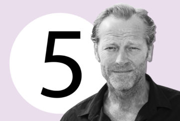 Iain Glen Hot Scot List