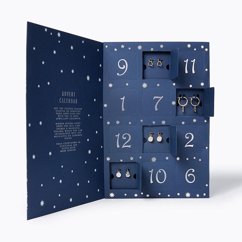 Marks and Spencer jewellery advent calendar