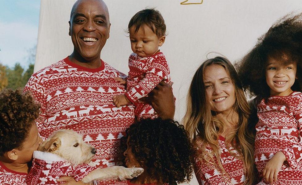 matching family pyjamas