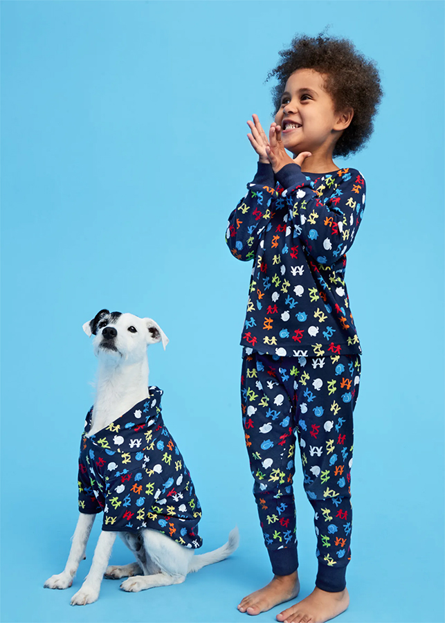 Matalan matching family pyjamas
