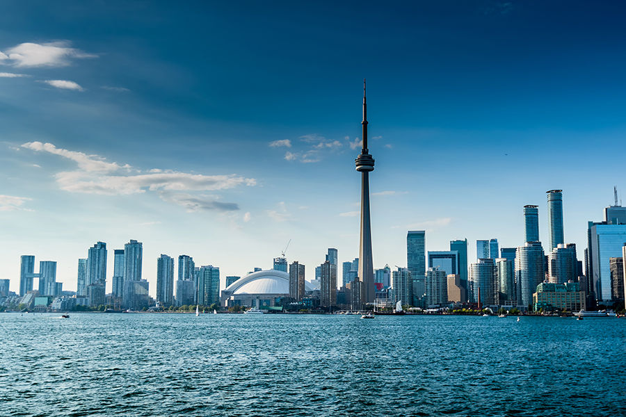 Toronto Canada. Fly Direct From Scotland