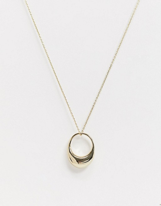 january style treats, ring necklace