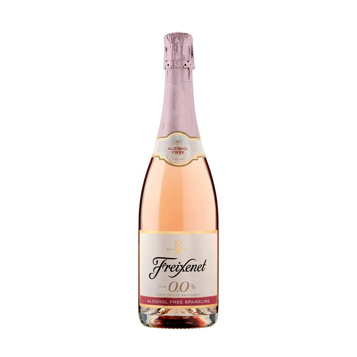 Freixenet Alcohol Free Rose Dry January Drinks