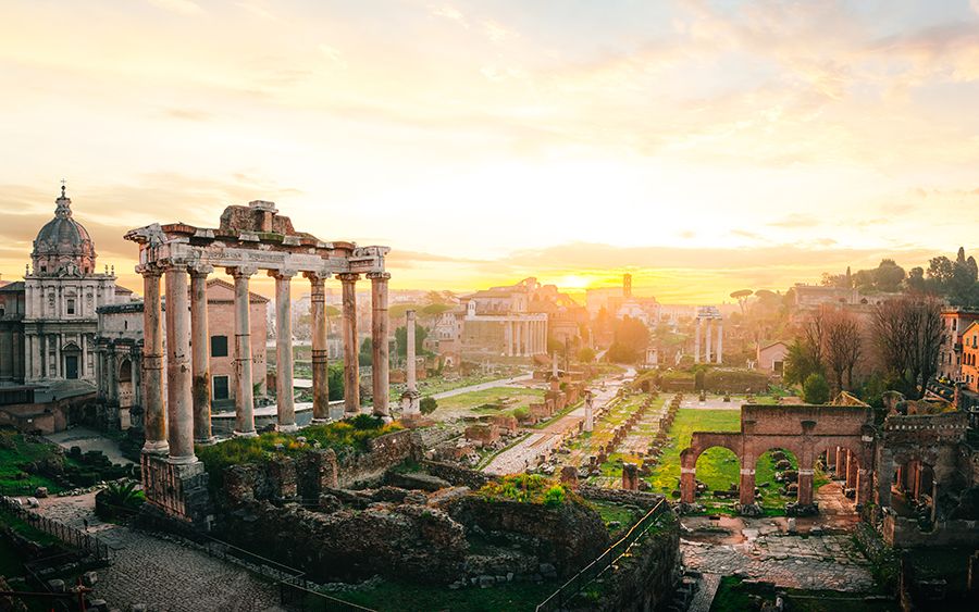 Rome Italy Fly Direct From Scotland