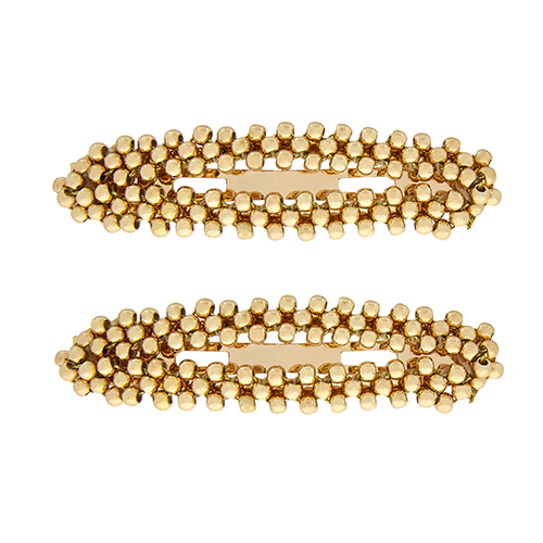 Gold accessorize hair clip