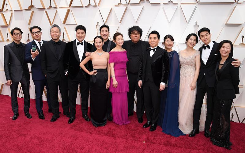 Parasite Oscars Red Carpet