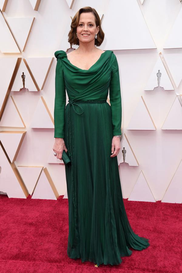 Sigourney Weaver Oscars Red Carpet