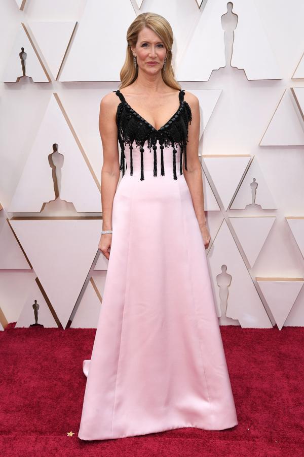 Laura Dern Oscars Red Carpet