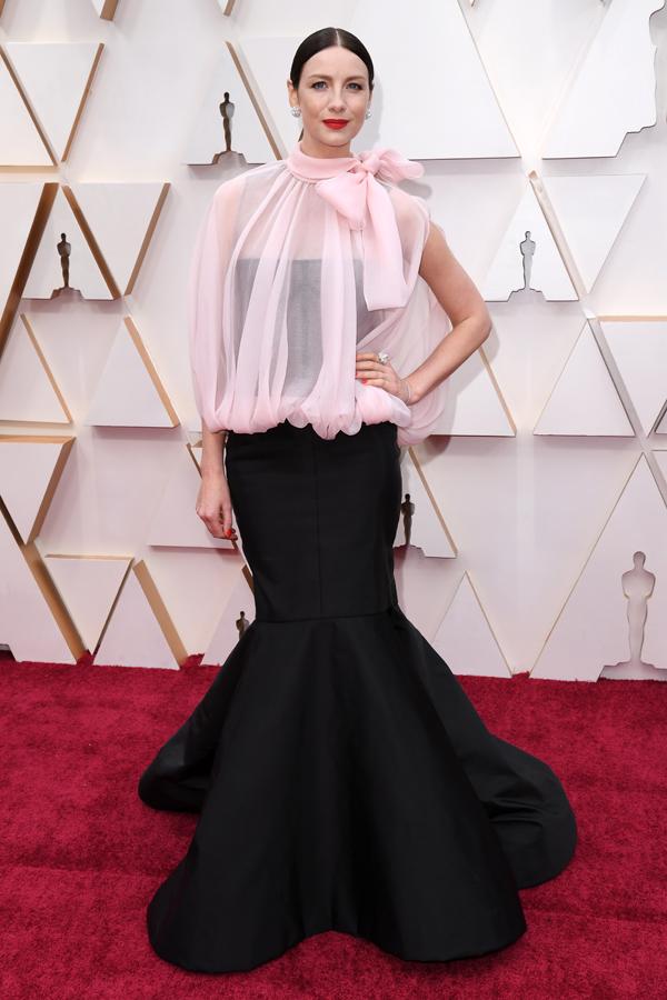 Caitriona Balfe Oscars Red Carpet