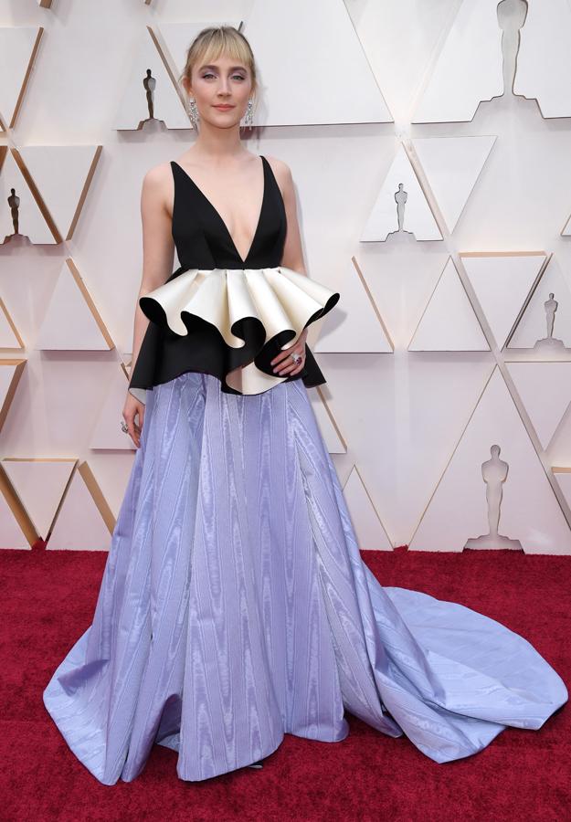Saoirse Ronan Oscars Red Carpet