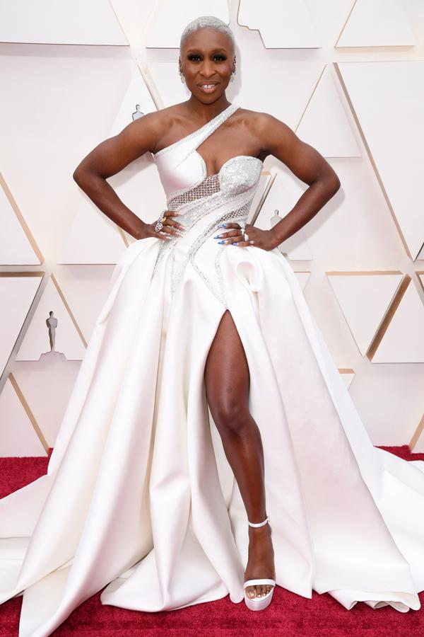 Cynthia Erivo Oscars Red Carpet