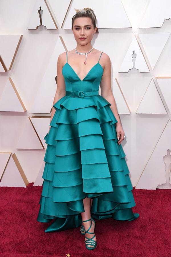 Florence Pugh Oscars Red Carpet