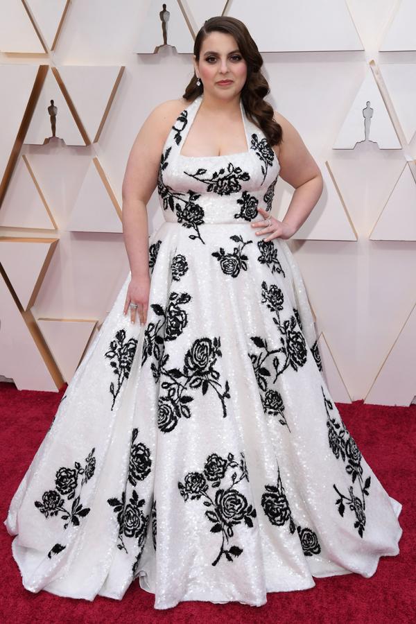 Beanie Feldstein Oscars Red Carpet
