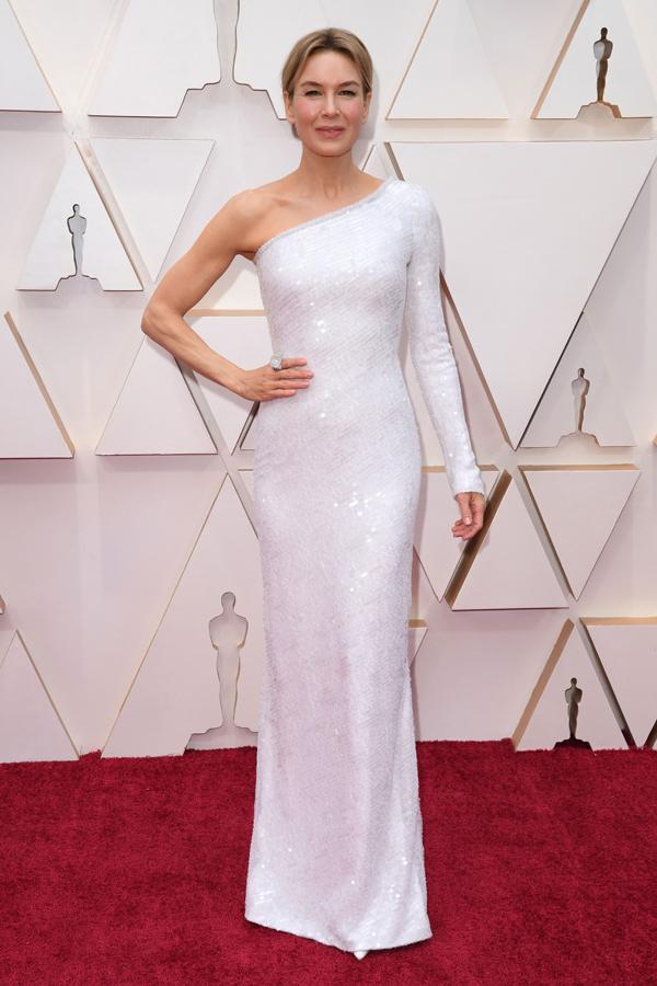 Renee Zellweger Oscars Red Carpet