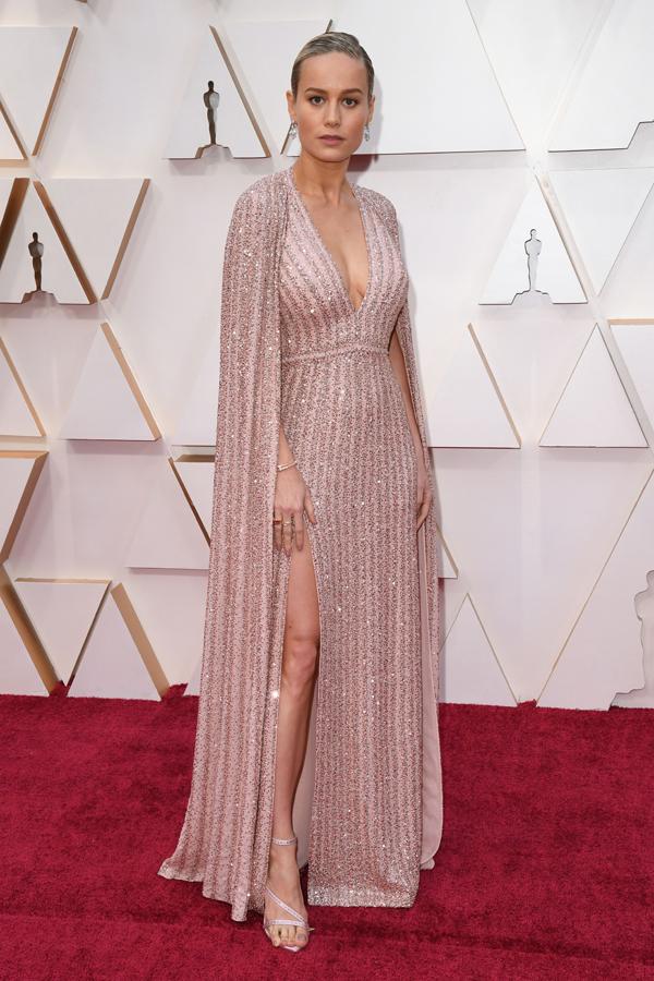 Brie Larson Oscars Red Carpet