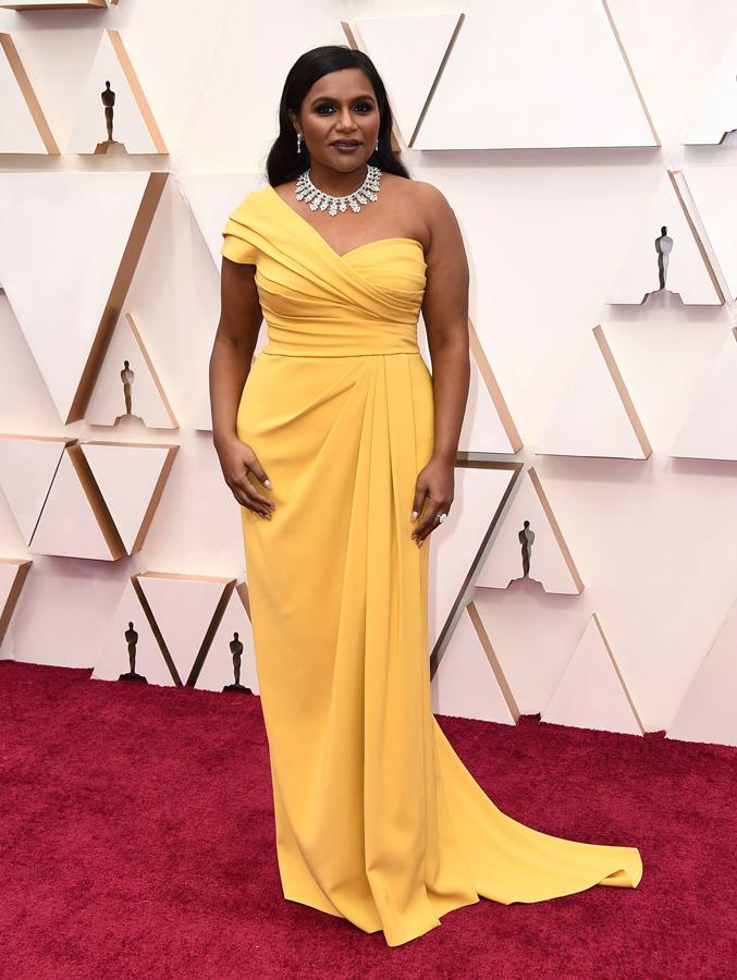 Mindy Kaling Oscars Red Carpet