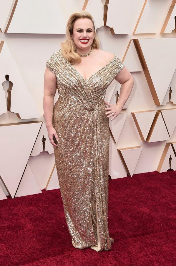 Rebel WIlson Oscars Red Carpet