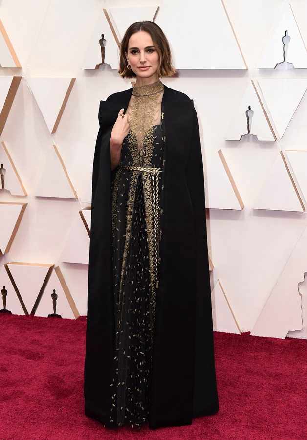 Natalie Portman Oscars Red Carpet