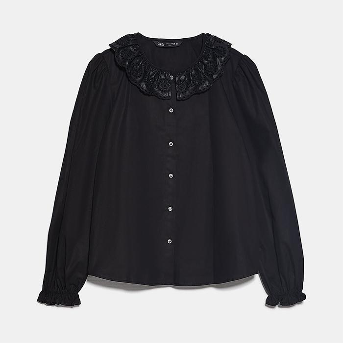 zara oversize collar, Oversize Collar Trend