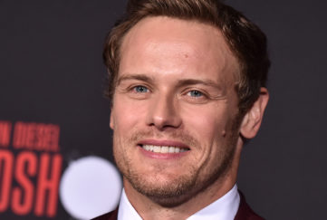 sam heughan isolation challenge