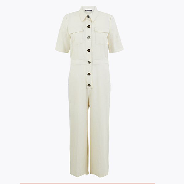 Marks and Spencer Linen Jumpsuit