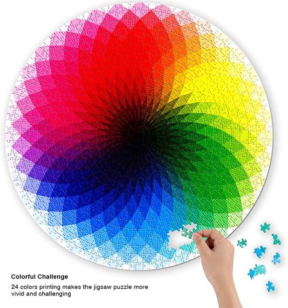 Colourful Jigsaw