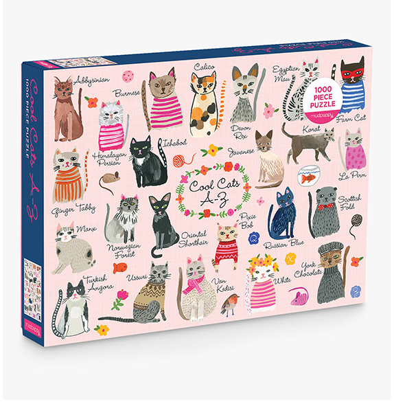 Cool Cats Jigsaw For Adults
