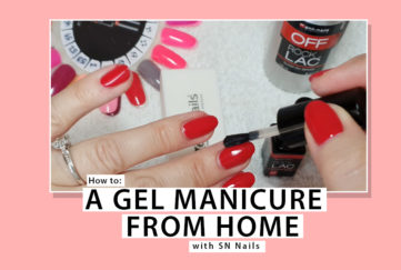 Gel Manicure DIY Tutorial